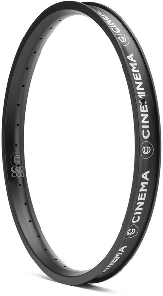 Cinema BMX 888 Rim Color: Matte Black