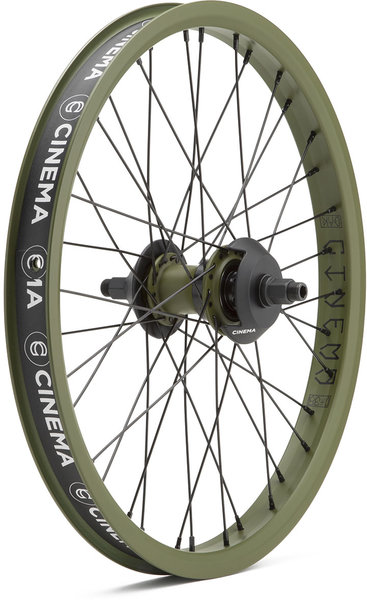 Cinema BMX C38 Freecoaster Rear Wheel Dak Edition