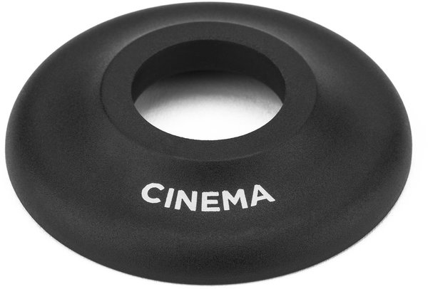 Cinema BMX CF Front Hub Guard Color: Black