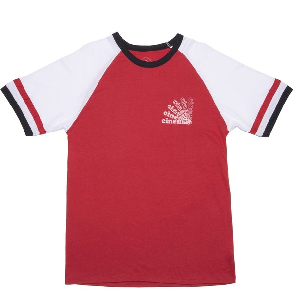 Cinema BMX Cooper Jersey Color: Red/White/Black