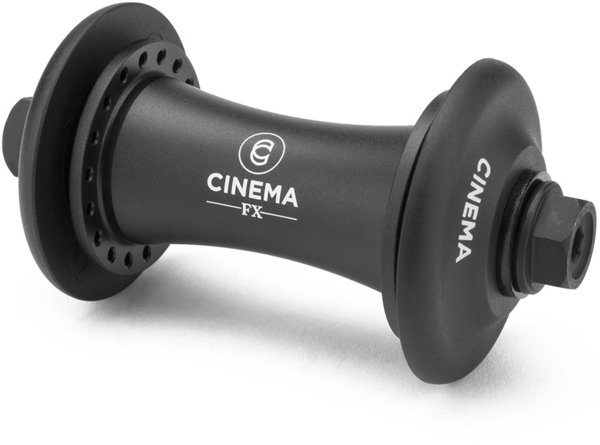 Cinema BMX FX Front Hub Color: Black