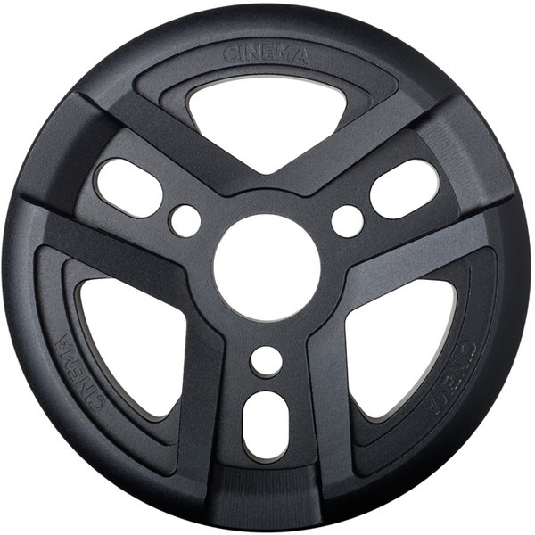 Cinema BMX Reel Guard Sprocket Color | Size | Speeds: Black | 25T | Single