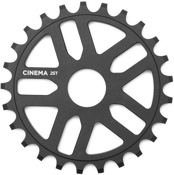 Cinema BMX Rewind Sprocket Color | Size | Speeds: Black | 25T | Single