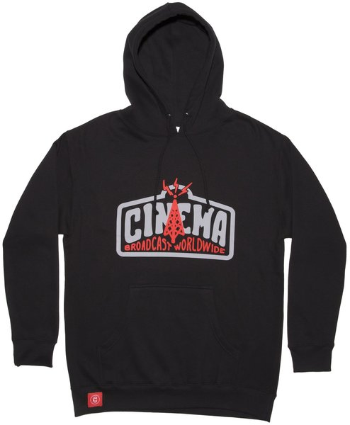 Cinema BMX Transmission Hoodie Color: Black
