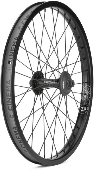 Cinema BMX ZX Front Wheel Color: Black