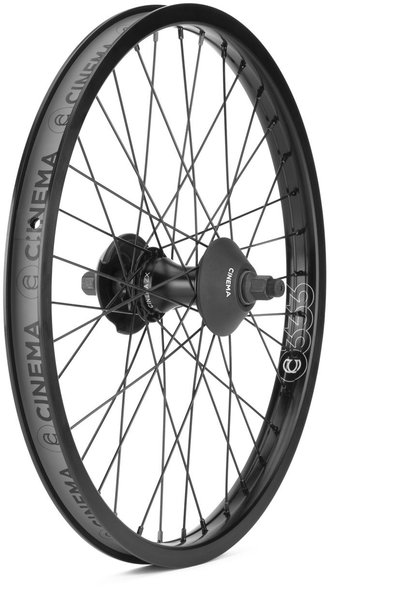 Cinema BMX ZX Rear Cassette Wheel Color: Black
