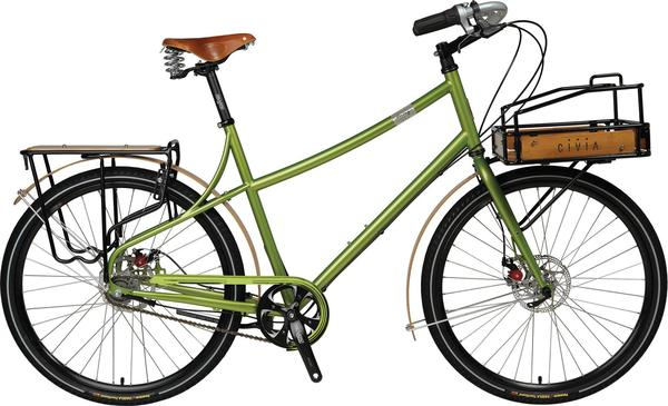 Civia Loring i-Motion 9-Speed Color: Green Apple