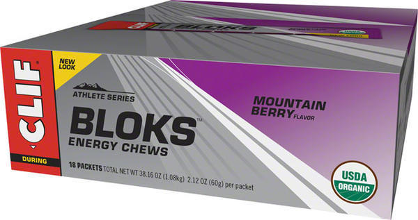 Clif Clif Shot Bloks Flavor | Size: Mountain Berry | 18-pack