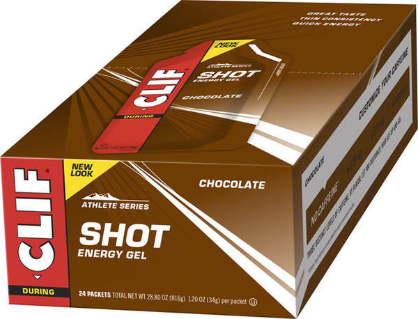 Clif Clif Shot Energy Gel Flavor | Size: Chocolate | 24-pack