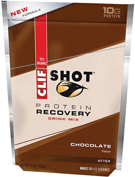 Clif Clif Shot Recovery Drink Mix Flavor | Size: Chocolate | 10-serving