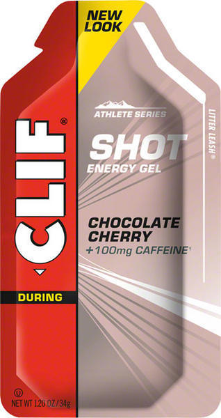 Clif Clif Shot Turbo Energy Gel Flavor | Size: Chocolate Cherry (100mg Caffeine) | Single Serving