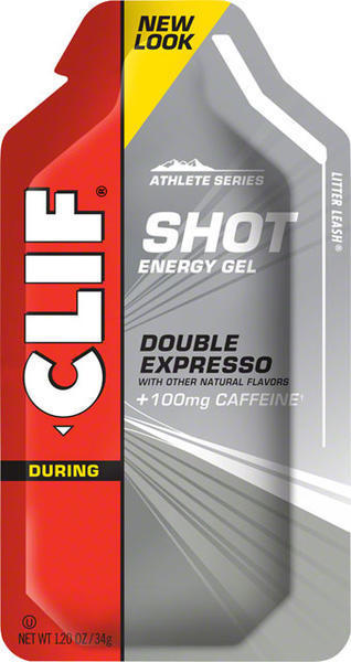 Clif Clif Shot Turbo Energy Gel Flavor | Size: Double Expresso (100mg Caffeine) | Single Serving