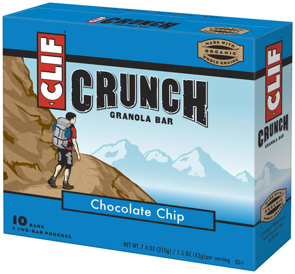 Clif Crunch Granola Bar (5-Count Box)