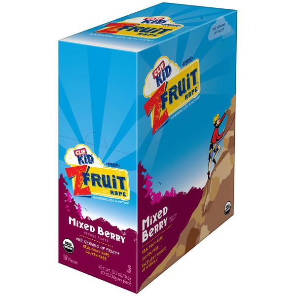 Clif Clif Kid ZFruit Flavor | Size: Mixed Berry | 18-pack