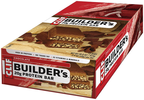 Clif Builder's Bar Flavor | Size: Chocolate | 12-pack