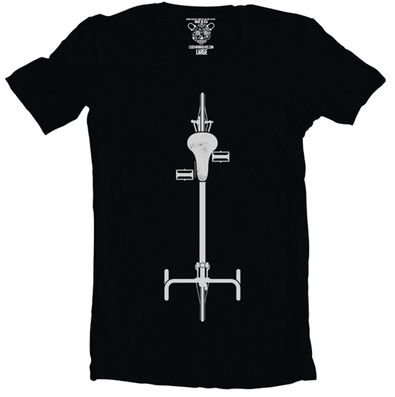 Clockwork Gears Birdseye T-Shirt Color: Black