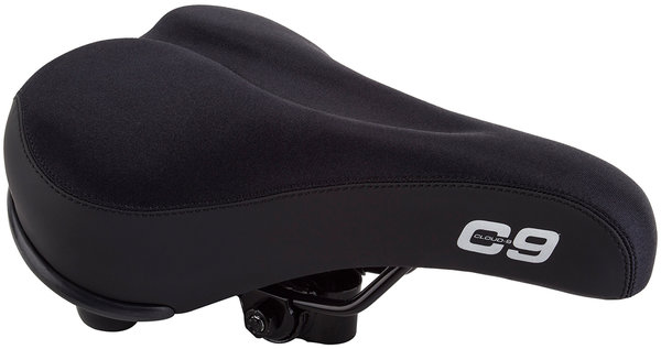 Cloud-9 Men's Comfort Saddle w/Lycra Cover Color: Black