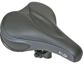 Cloud-9 Men's Comfort Gel Seat Color: Tri-Color Emerald
