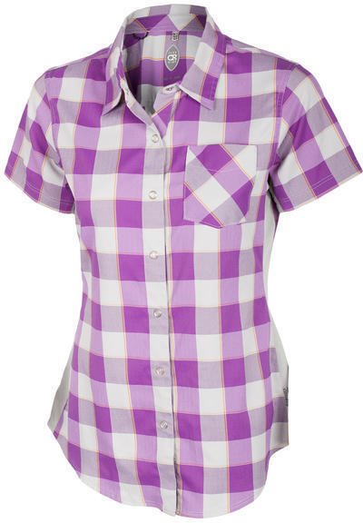 Club Ride Bandara Color: Dewberry Plaid