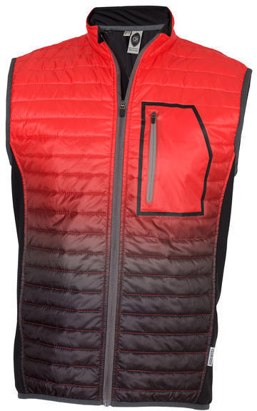 Club Ride Blaze Vest Color: Radiant Orange
