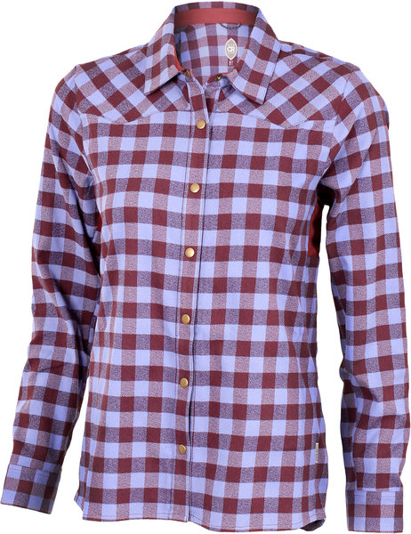 Club Ride Liv'n Flannel Color: Merlot