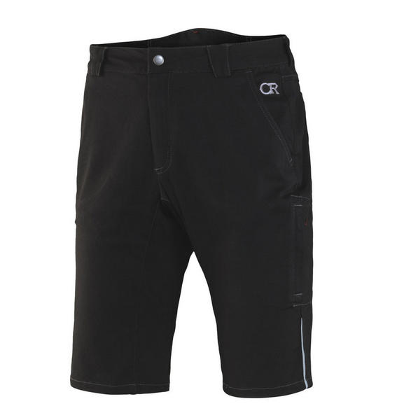 Club Ride Pit Stop Shorts Color: Raven