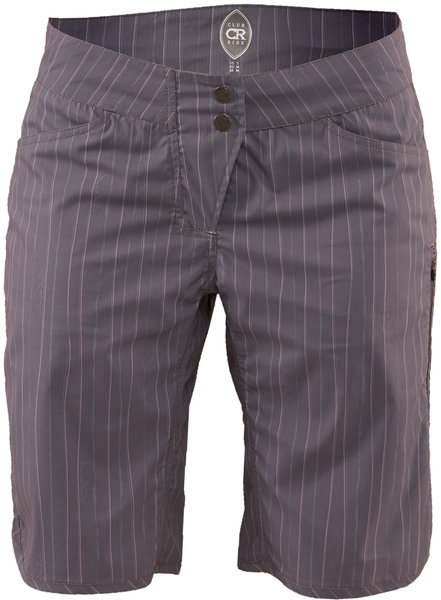 Club Ride Savvy Short Color: Artisan Grey Pinstripe