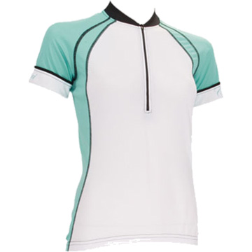Canari Women's Cascade Jersey (Short Sleeve) Color: Aqua