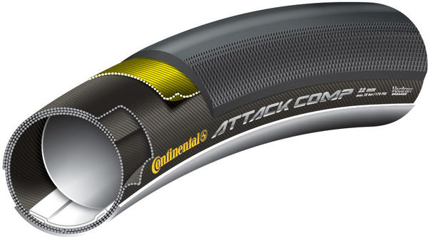Continental Attack/Force Comp Combo (Tubular)