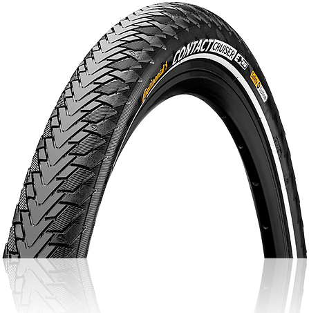 Continental Contact Cruiser 700C Color: Black/Reflex