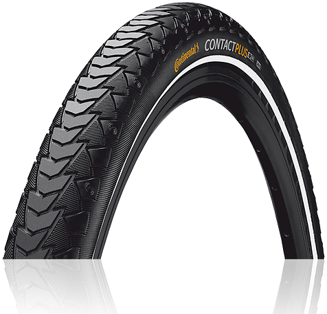 Continental Contact Plus 700C Color: Black/Reflex