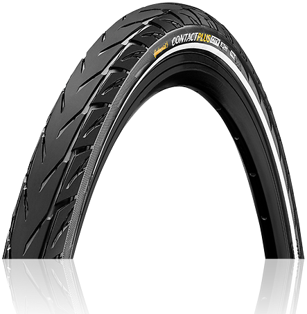 Continental Contact Plus City 700C Color: Black/Reflex