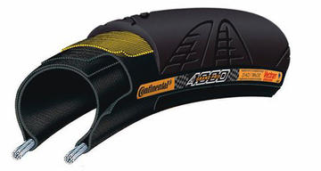 Continental Grand Prix 4000 (700c, Folding) Color: Black/Blackwall