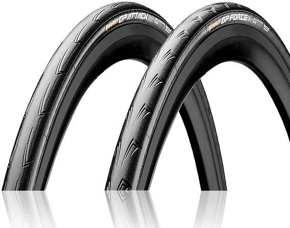 Continental Grand Prix Attack and Force Set Color: Black