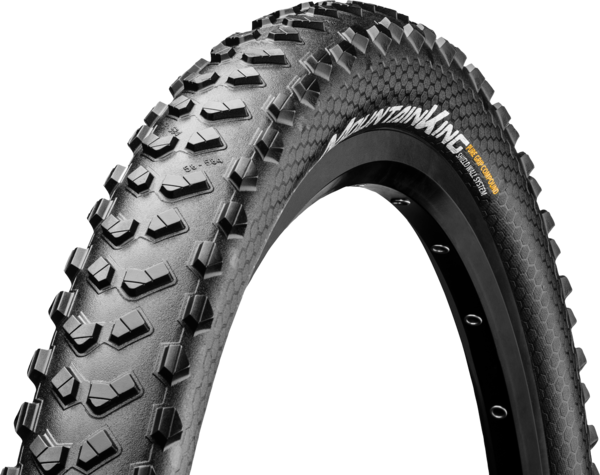 Continental Mountain King ShieldWall 26-inch Tubeless Color: Black