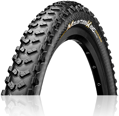 Continental Mountain King ProTection 27.5-inch Color: Black