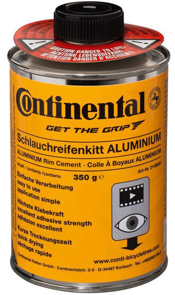 Continental Rim Cement (for aluminum rims) Size: 350g Can