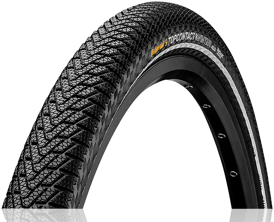 Continental Top Contact Winter II Premium 650B Color: Black/Reflex