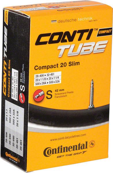 Continental Tube 20-inch Presta Valve
