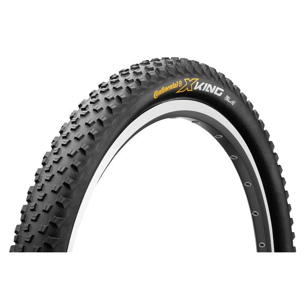 Continental X-King Color | Model | Size: Black/Black | Sport | 27.5 x 2.4