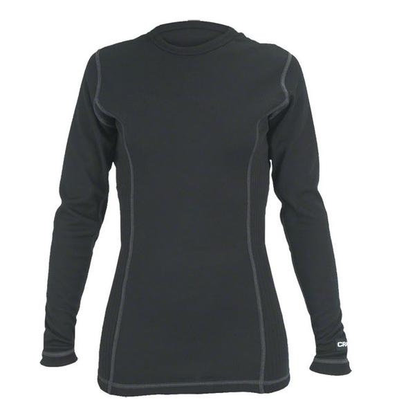 Craft Active Crew Neck LS Base Layer - Women's Color: Black