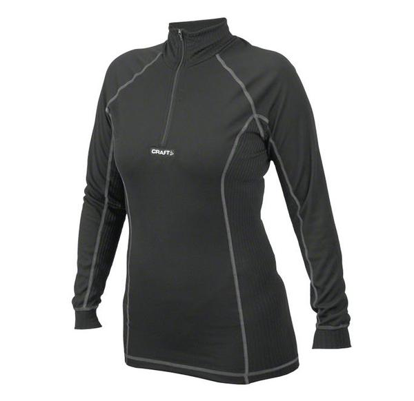 Craft Active Zip Mock Neck LS Base Layer - Women's