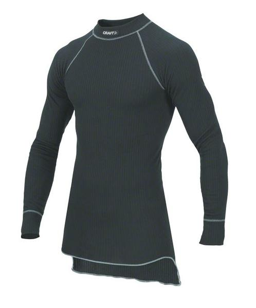 Craft Active Crew Neck LS Base Layer Color: Black