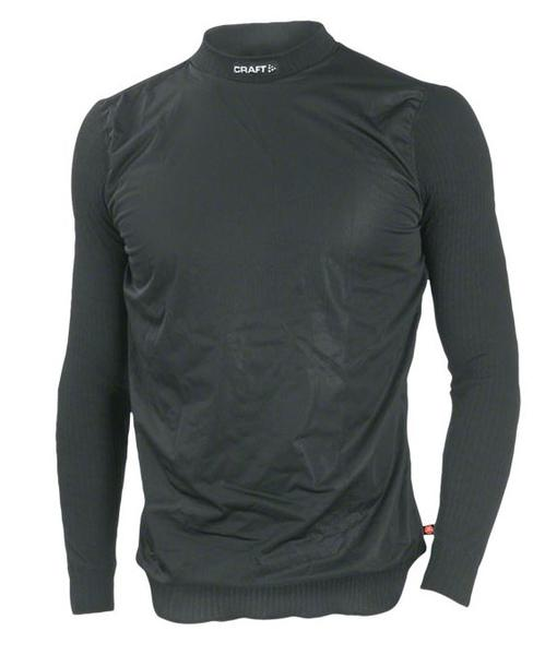 Craft Active Windstopper Crew Neck LS Base Layer Color: Black