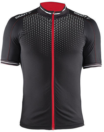 Craft Glow Jersey Color: Black/Bright Red