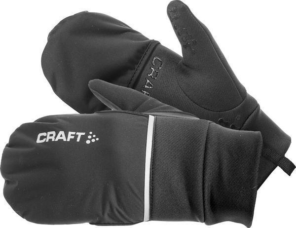 Craft Hybrid Weather Glove Color: Black