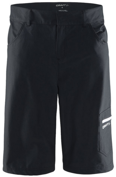 Craft Reel XT Shorts Color: Black/White