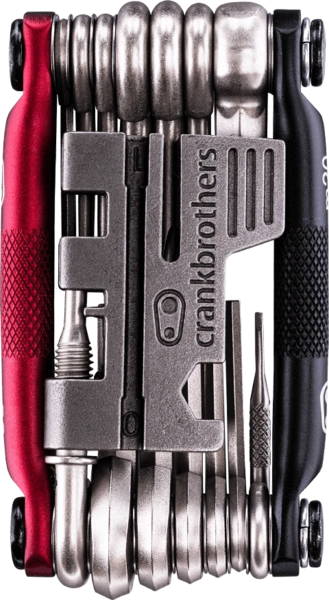 Crank Brothers M20 Multi Tool Color: Black & Red