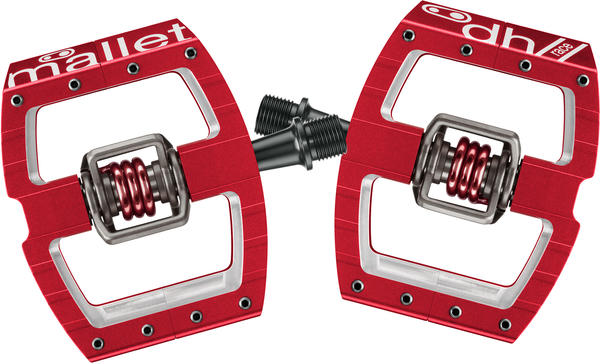 Crank Brothers Mallet DH/Race Color: Red
