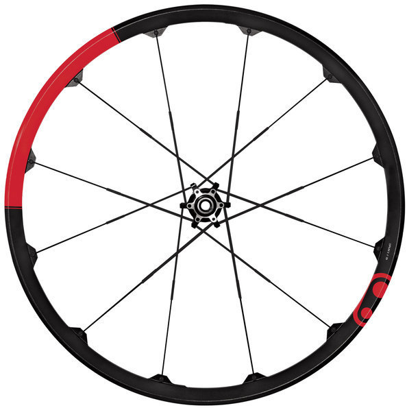 Crank Brothers Opium 3 Wheelset 27.5-inch Color: Red/Black